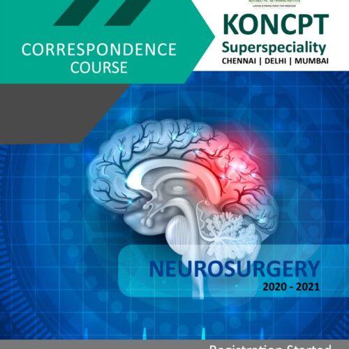 Neurosurgery Correspondence Course 2020 -21