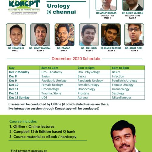 Urology (12th Edition Based) Crash Course