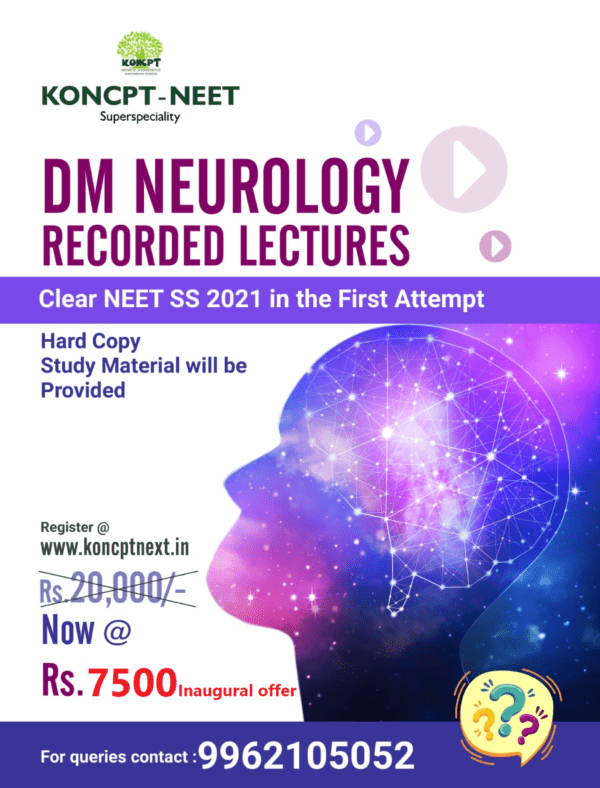 Neurology Recorded Lectures 2021